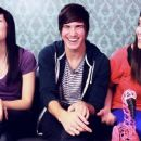 Meghan Camarena,Catherine Valdes,and Joey Graceffa - 454 x 255