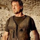 Sylvester Stallone as Barney Ross in The Expendables
