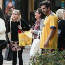 Emma Roberts – Shopping with her mom Kelly Cunningham in Los Angeles