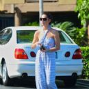 Ashley Greene was spotted running a few errands in Los Angeles, August 17