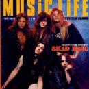 Sebastian Bach, Rachel Bolan, Scotti Hill, Rob Affuso & Dave Sabo - 454 x 656