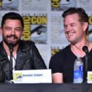 Actor Dominic Cooper attends AMC's 'Preacher' panel during Comic-Con International 2016 at San Diego Convention Center on July 22, 2016 in San Diego, California - 454 x 302