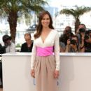 Hilary Swank wears Bottega Veneta - 'The Homesman 2014 Cannes Film Festival photocall'