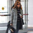 Eva Mendes At Jfk Airport In Nyc