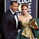 Jennifer Lopez and Alex Rodriguez– 77th Annual Golden Globe Awards in Beverly Hills