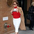 Leah Remini – Arrives at The View in New York - 454 x 577