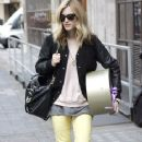 Fearne Cotton: steps out of the Radio One studios