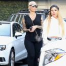 Amber Rose – Leaving Epione in Beverly Hills - 454 x 600