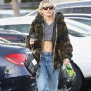 Miley Cyrus with boyfriend Cody Simpson out in Toluca Lake