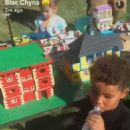 Blac Chyna Celebrates King Cairo's 4th Birthday at Her Home in Tarzana, California - October 15, 2016 - 454 x 609