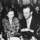 David Niven and Primula Rollo