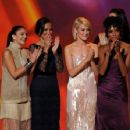 Minka Kelly, Annie Ilonzeh, Rachael Taylor, and Drew Barrymore at The 63rd Primetime Emmy Awards (2011) - 454 x 353