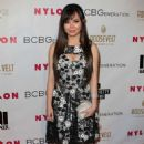 Anna Maria Perez De Tagle Nylons Young Hollywood Party