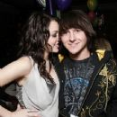 Mitchel Musso with gf miley cyrus
