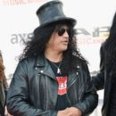 Slash attends the 2014 Gibson Brands AP Music Awards at the Rock and Roll Hall of Fame and Museum on July 21, 2014 in Cleveland, Ohio.