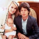 Jerry Hall and Mick Jagger christening baby Elizabeth Scarlett