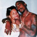 Kidada Jones and Tupac Shakur