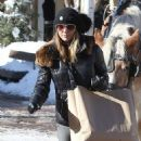 Lori Loughlin goes out on Christmas Eve to do a little last minute shopping in Aspen, Colorado on December 24, 2014 - 454 x 535