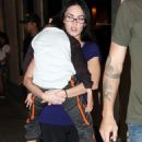 Megan Fox Wearing Glasses In LA, September 30 2009