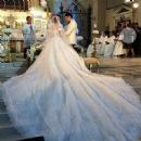 Bride Marian Rivera wears Michael Cinco - 454 x 451
