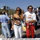 Ayrton Senna and Adriane Galisteu
