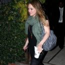 Hilary Duff - Going On A Night Out In Beverly Hills, 08.12.2007.