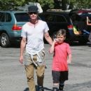 Gavin Rossdale takes his son Kingston to his soccer game in Sherman Oaks, California on April 12, 2015 - 454 x 550