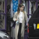 Emma Watson – Shopping candids at Tallulah Lingerie in north London
