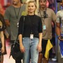 Margot Robbie – On the set of 'Once Upon a Time' in Hollywood