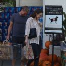 Lily Collins – Shopping at Bristol Farms in Beverly Hills