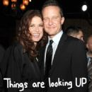 Debra Messing and Will Chase