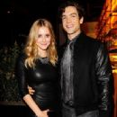 Julianna Guill and Ethan Peck