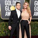 Rami Malek and Julia Roberts At The 76th Golden Globe Awards (2019) - 422 x 600