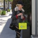 Kimberly Stewart in Tights – Shopping in Beverly Hills - 454 x 681
