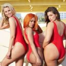 Ashley Graham, Niki Taylor and Teyana Taylor for Swimsuits for All (May 2017) - 454 x 302