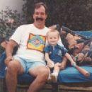 Dennis Hawley with his son Michael