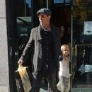 Brad Pitt & Angelina Jolie Take Kids To Barnes & Noble In NYC (November 3, 2015)