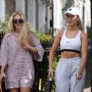 Perrie Edwards – Walking her dog in London - 454 x 391