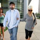 Christina Aguilera Out And About In Century City, LA 2008-06-25