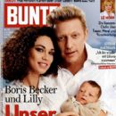 Boris Becker and Lilly Kerssenberg