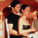 Lucy Liu and Matt LeBlanc