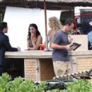 Busy Philipps - at Cougar Town set In Hawaii - 01/03/11
