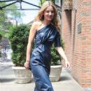 Annabelle Wallis – Arrives at the Bowery Hotel in New York