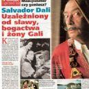 Salvador Dalí - Zycie na goraco Magazine Pictorial [Poland] (5 November 2015) - 454 x 595
