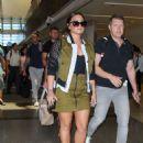 Demi Lovato – Seen At LAX Airport - 454 x 597