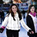 Kelly Brook - Ice Skating At Winter Wonderland In Hyde Park - December 6, 2009