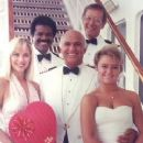 Gavin MacLeod - with cast of Love Boat