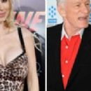 Izabella St. James and Hugh Hefner - 454 x 208