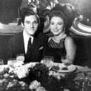 Joan Collins and Anthony Newley