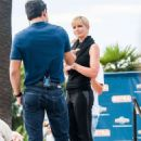 Jaime Pressly On The Set Of Extra In Universal City